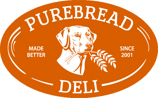 Purebread Deli Orange Logo 2021